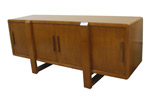 J Green Furniture 50's Credenza with Doors