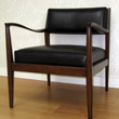 J Green Furniture exposed wood chair