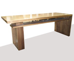 J Green Furniture Walnut Desk