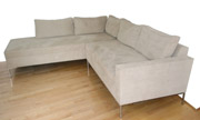 J Green Furniture Camden tight seat sectional