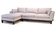 J Green Furniture Milano Chaise Sectional