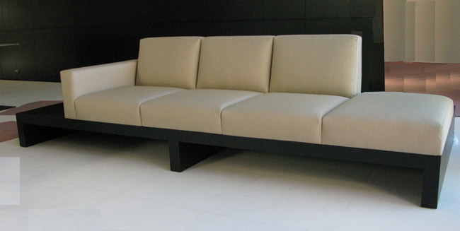 ... J Green Furniture Wenge Platform Sofa ...